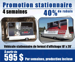 Promotion Stationnaire